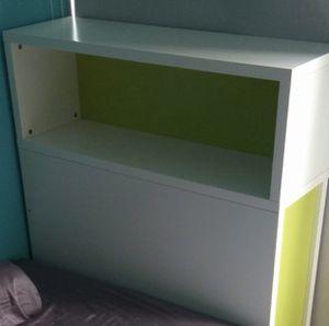 IKEA FLAXA storage headboard for Sale in Tacoma, WA