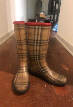 Burberry rain boots for Sale in Richmond, VA
