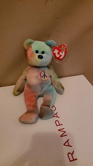 Rainbow ( Teddybear beanie baby) for Sale in East Wenatchee, WA