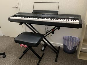 Alesis Recital Pro 88 Keys Digital Piano (Stand, Chair, and Sustain Pedal Included!) for Sale in Berkeley, CA