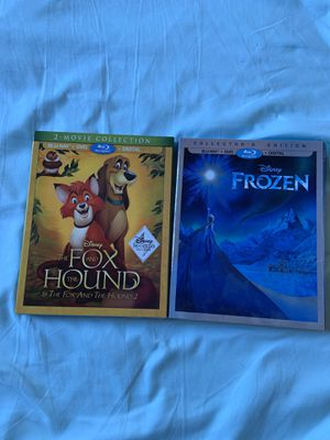 Disney-The Fox and The Hound Collection and Frozen New for Sale in Torrance, CA