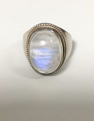 Beautiful Moonstone Sterling Silver Ring - Size 10 for Sale in Huntington Beach, CA