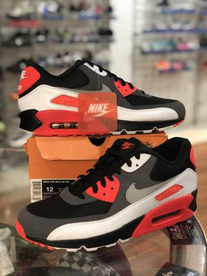Reverse Infrared Air Max 90s size 12 for Sale in Silver Spring, MD