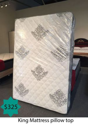 King mattress pillow top for Sale in Costa Mesa, CA