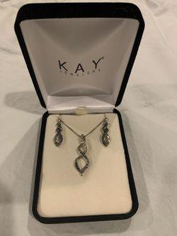 Dark Blue/Black Mixed Diamond Set for Sale in Aldie,  VA