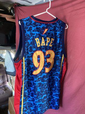 Warriors Bape Jersey for Sale in San Jose, CA