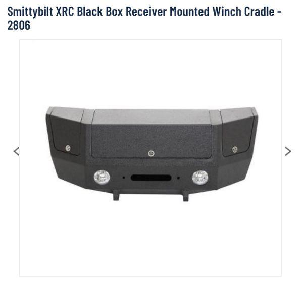 Smittybilt XRC Black Box Receiver Mounted Winch Cradle
