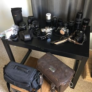 Miscellaneous vintage camera gear for Sale in Hampton, VA