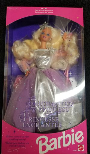 1993 Enchanted Princess Barbie Doll for Sale in Lynnwood, WA