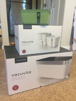 Vacuum Storage System with container set for Sale in Seattle, WA
