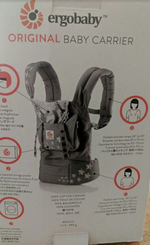 New in box grey n star ergo baby carrier for Sale in San Leandro, CA