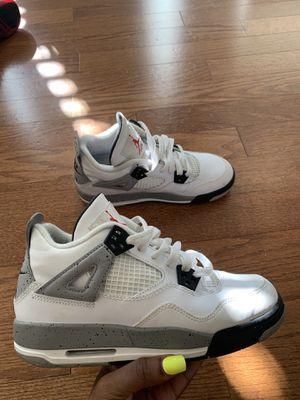 Retro Jordan Cement 4s Size 5 for Sale in Atlanta, GA