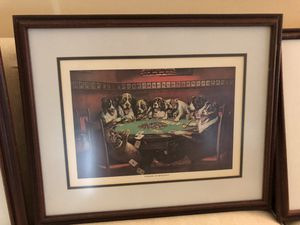 "Set of 6 ""dogs playing poker"" for Sale in Greer, SC"