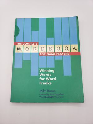 Ultimate and complete Wordbook - great for any type of word game or scrabble for Sale in Ontario, CA