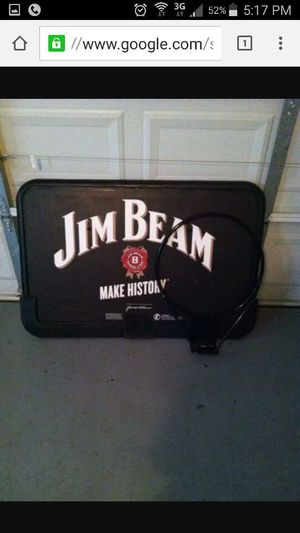 Jim beam basketball hoop for Sale in Chicago, IL