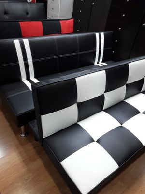 new leather futon for Sale in Lake Elsinore, CA
