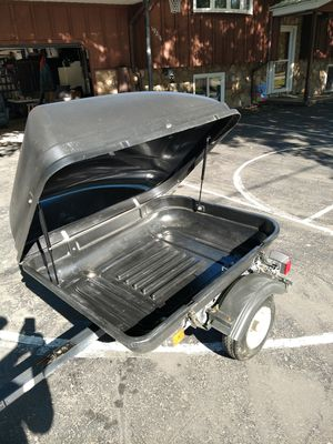Small Pull behind Trailer Motorcycle for Sale in Groveland, IL