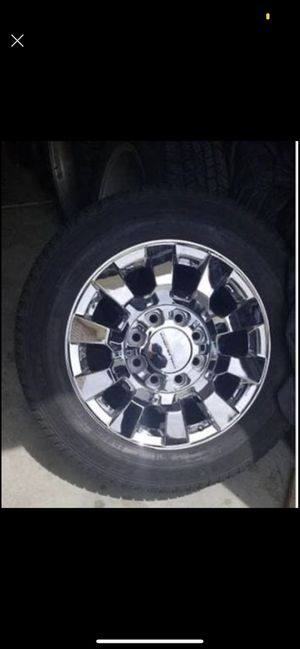 GMC Denali 2500 wheels for Sale in Commerce City, CO