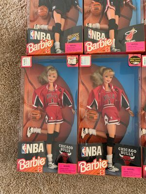 NBA Barbie Collection - Lot of 7 for Sale in Brunswick, OH