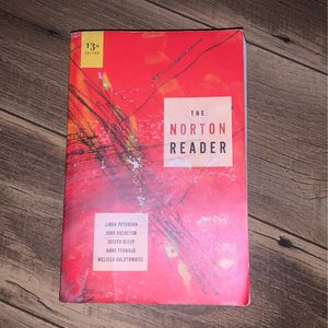 The Norton Reader 13th edition for Sale in Fairfield, CA