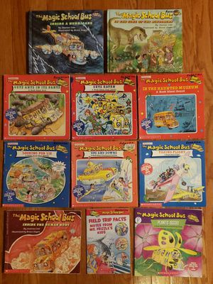 The Magic School Bus books based on PBS TV show lot of 18 for Sale in St. Charles, IL
