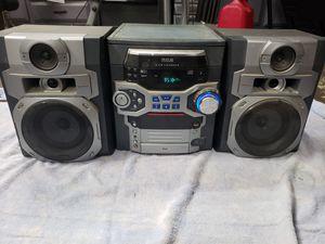 RCA 5-disk Bi-Amp shelf stereo for Sale in Modesto, CA