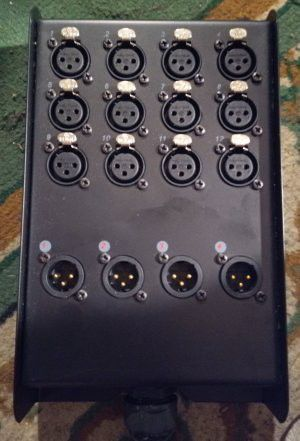 Pro Audio: Low Profile Snake: XSPro 12x4 50 ft for Sale in West Hollywood, CA