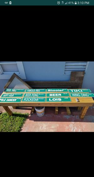 Man Cave/She-Shed Aluminum Signs for Sale in Hollywood, FL