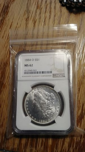 1884 O O ms62 Morgan dollar for Sale in Broomall, PA