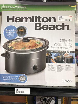 Hamilton Beach 33256 slow cooker for Sale in Revere, MA