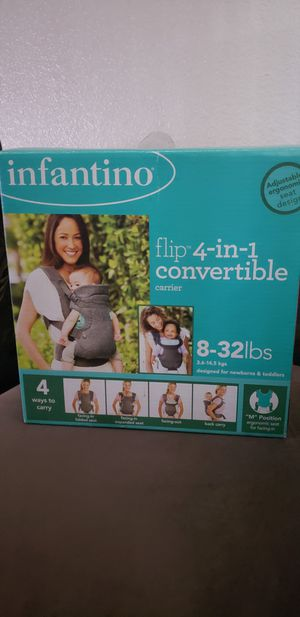 Infantino 4in1 baby carrier for Sale in Phoenix, AZ