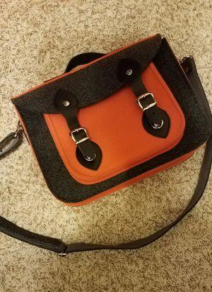 Felt messenger bag for Sale in Laurel, MD