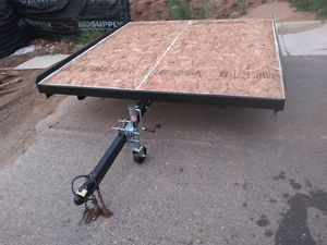 Sno bird tilt bed trailer for Sale in LOS RNCHS ABQ, NM
