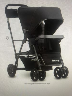 Joovy Ultralight caboose Double Stroller for Sale in Fort Worth, TX