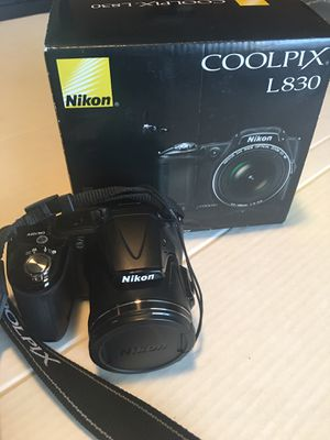 Nikon coolpix L830 for Sale in Lubbock, TX