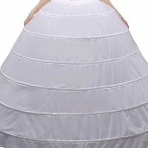 6 Hoop Petticoat For Wedding Dress for Sale in San Lorenzo, CA