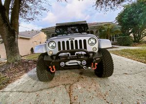 Nice silver. 2012 Jepp Wrangler Sahara 4WD-Wheel for Sale in US