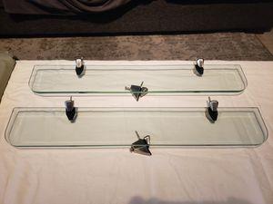 Floating Glass Shelves.... tempered glass for Sale in Las Vegas, NV