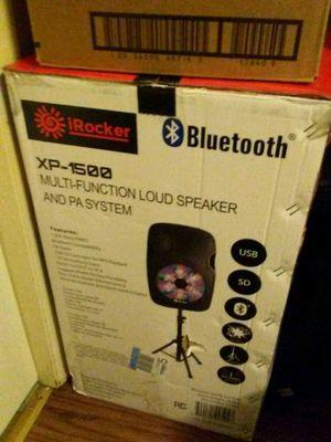 Irocker Bluetooth speaker for Sale in Little Rock, AR