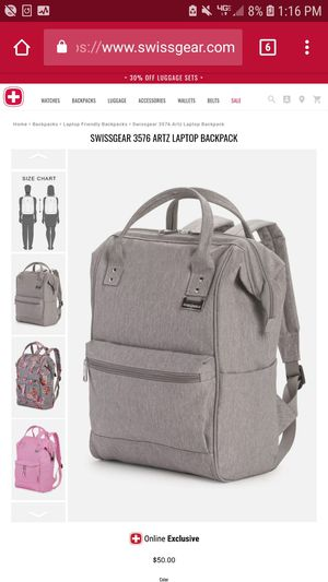 Swiss Gear laptop backpack for Sale in San Diego, CA