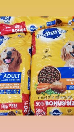 Pedigree Dog Food 50lbs for Sale in East Los Angeles,  CA