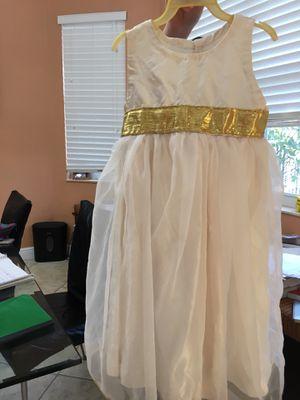 Handmade flower girl dress in size 3 for Sale in Weston, FL