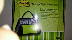 Post it -- Pop Up Note Dispenser for Sale in West Palm Beach, FL
