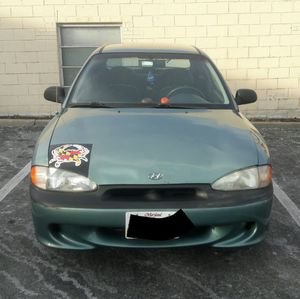 Hyundai accent gs 1997 for Sale in Rockville, MD