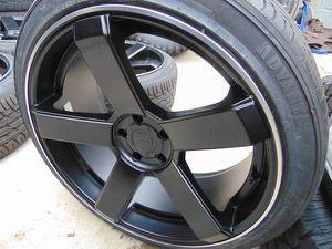 NEW 22X10.5 DropStar Rims & 265 35 22 Advanta Tires *5X115*5X120*25MM* for Sale in Aurora, CO