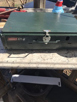 2 Coleman camping stoves and a American camper stove for Sale in Lexington, NC