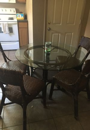 Dining Table with Four Chairs for Sale in Oshkosh, WI