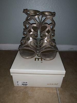 Maripe Mimi Gold Heels for Sale in Frostproof, FL