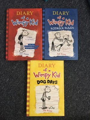 Dairy of a Wimpy Kid Book Set for Sale in Torrance, CA