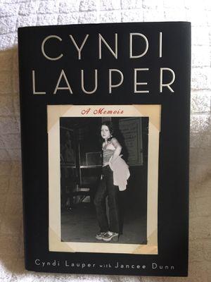 """Cyndi Lauper - A Memoir"" Book for Sale in Portland, OR"